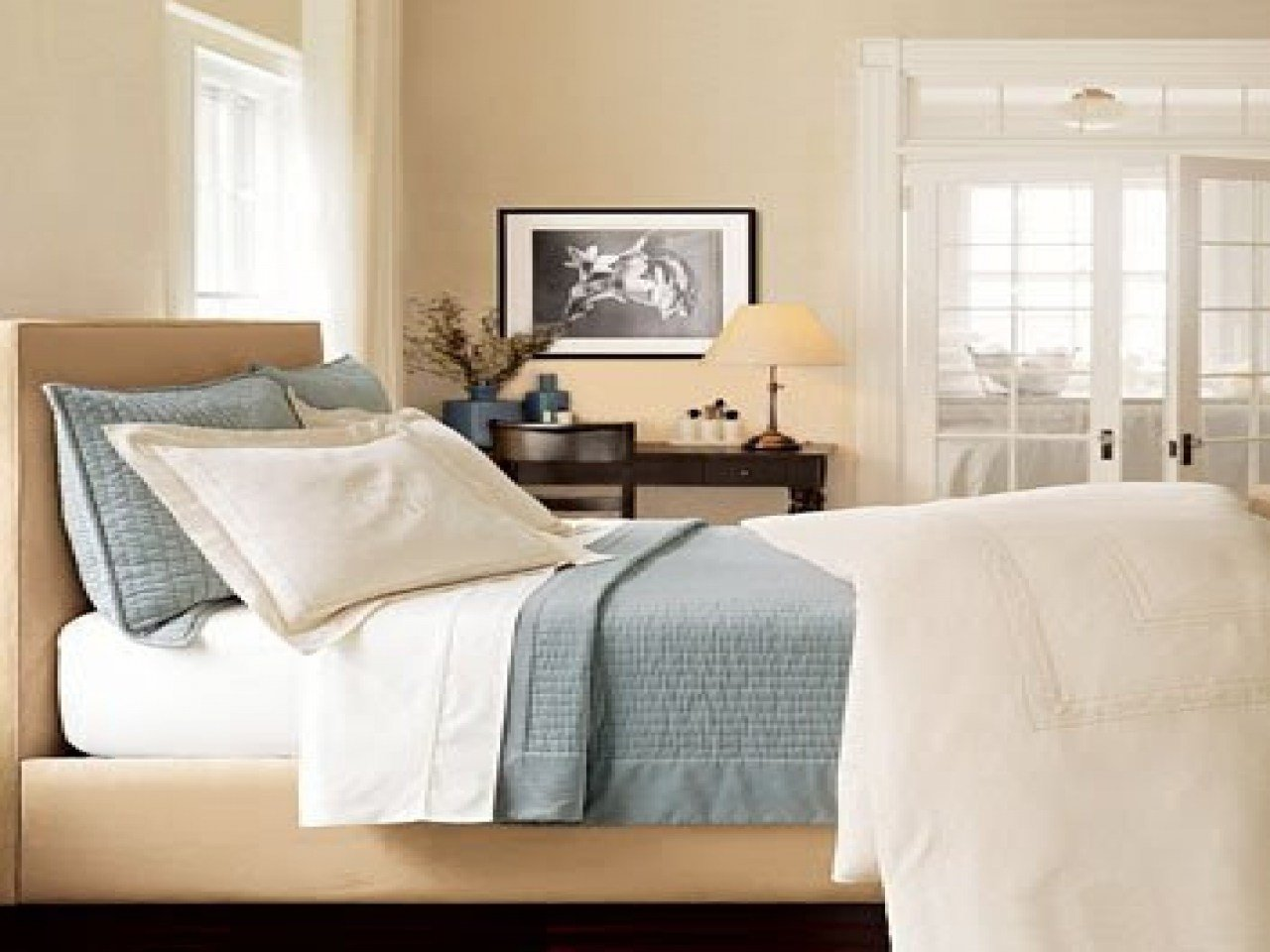 Best Blue And Beige Bedroom Decorating With Blues And Creams With Pictures