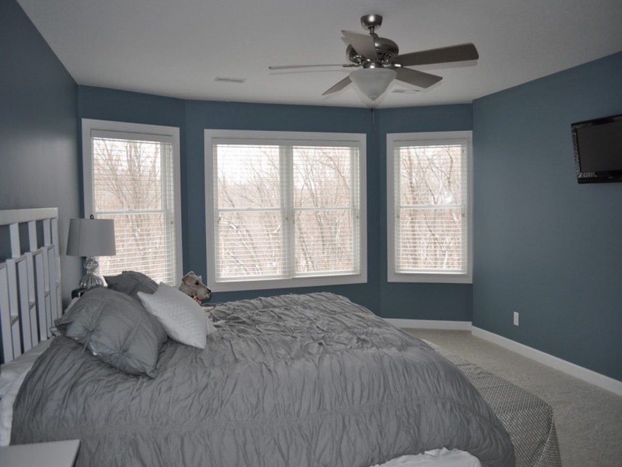 Best Blue Gray Bedroom Blue Gray Bedroom Walls Yellow Walls With Pictures