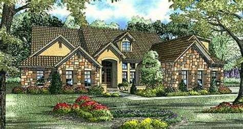 Best Tuscan Style House Plans 3003 Square Foot Home 1 Story With Pictures