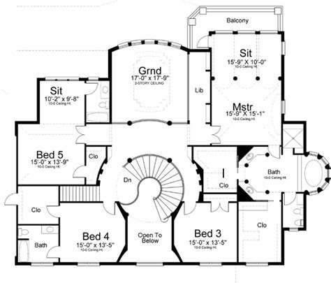 Best Georgian Style House Plans 5699 Square Foot Home 2 With Pictures