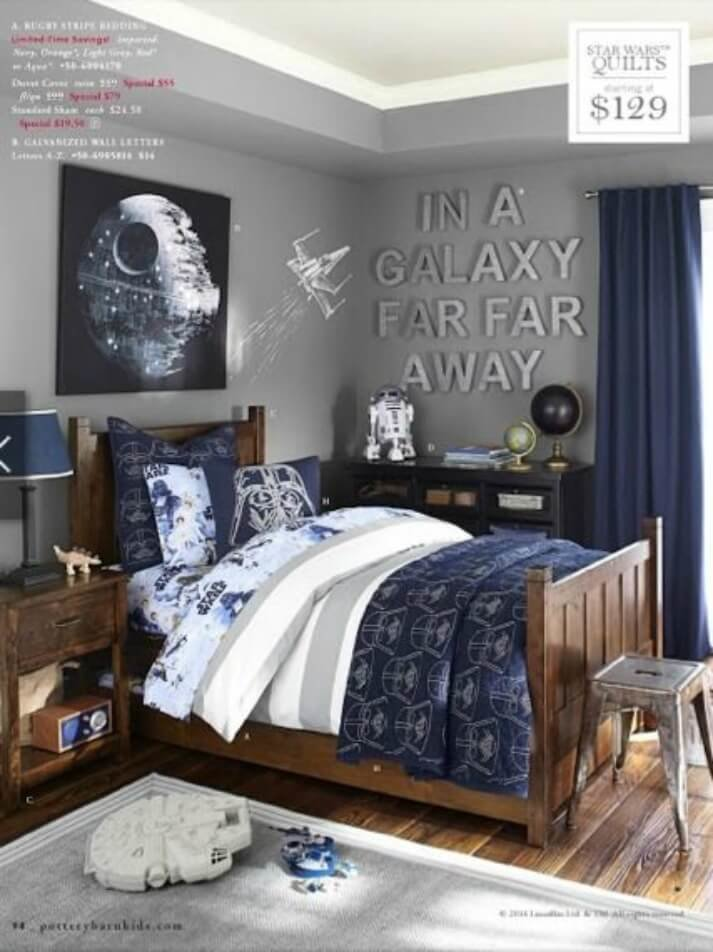 Best A Star Wars Themed Bedroom Pushing The Moon With Pictures