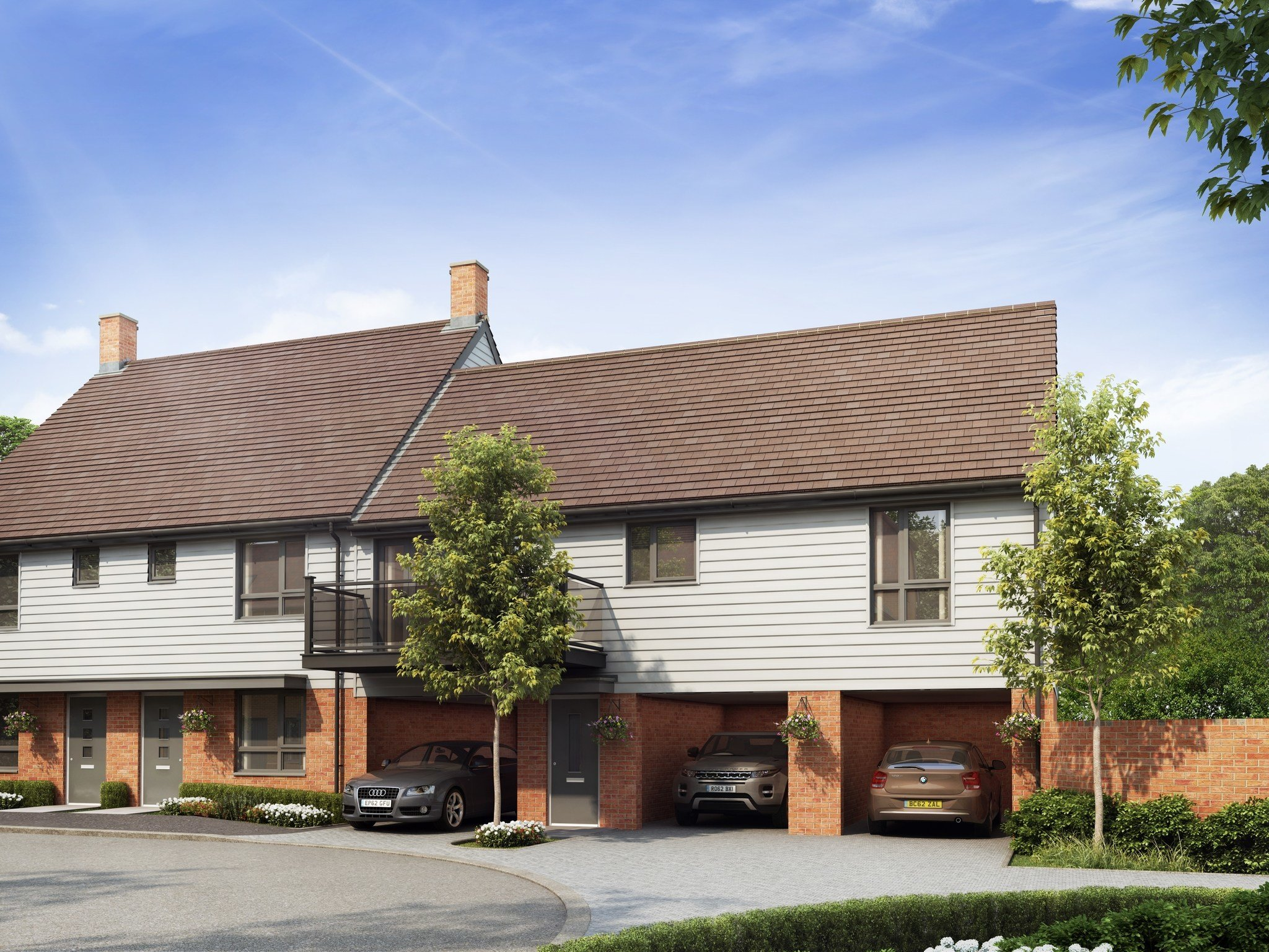 Best 2 Bedroom Coach House For Sale In Ashford Kent Tn23 *Gp Plot 12 With Pictures