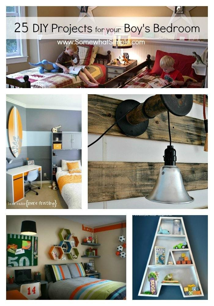 Best Diy Boy Bedroom Projects 25 Ideas That Your Boy Will Love Somewhat Simple With Pictures