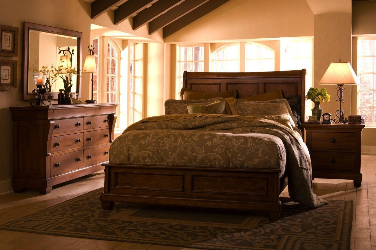 Best Solid Wood Queen Bedroom Sets Home Furniture Design With Pictures