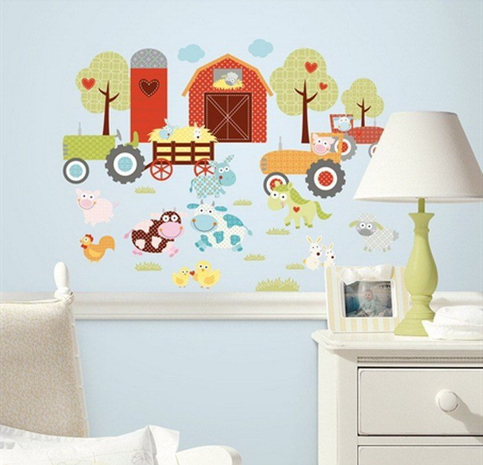 Best 22 Cool Bedroom Wall Stickers For Kids Interior Design With Pictures