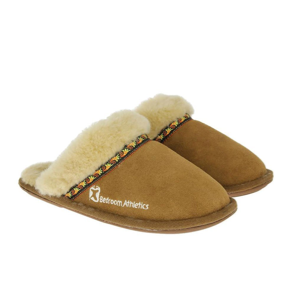 Best Bedroom Athletics Womens Muffin Slippers New Chestnut With Pictures