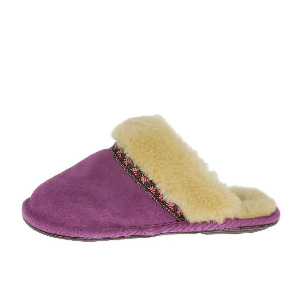 Best Bedroom Athletics Womens Muffin Slippers New Grape With Pictures