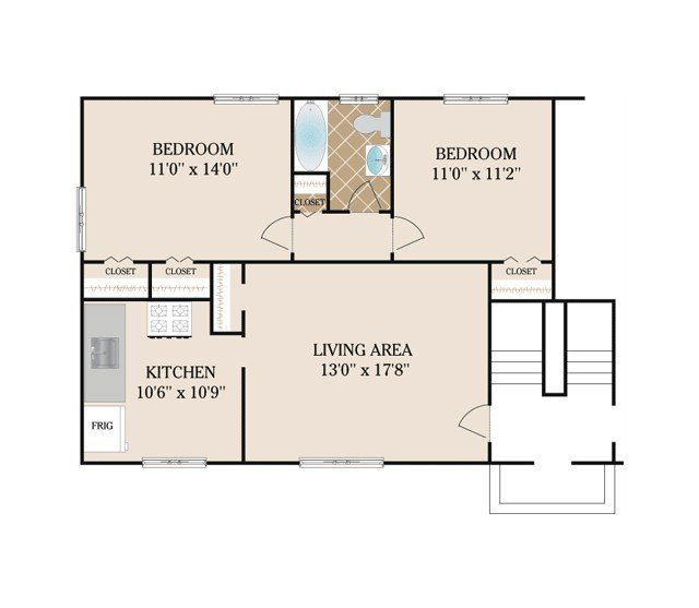 Best Floor Plans Short Hills Gardens Apartments For Rent In With Pictures