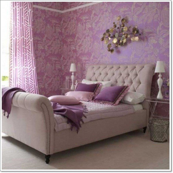 Best 35 Inspirational Purple Bedroom Design Ideas With Pictures