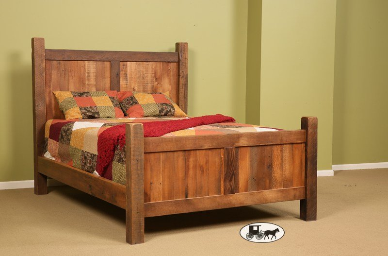 Best Amish Adirondack Real Wood Bedroom Furniture New York With Pictures