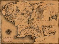 Mapa Terra media