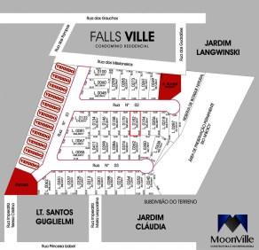 002-Mapa de Implantação - Falls Ville Residence