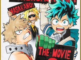my hero academia second movie