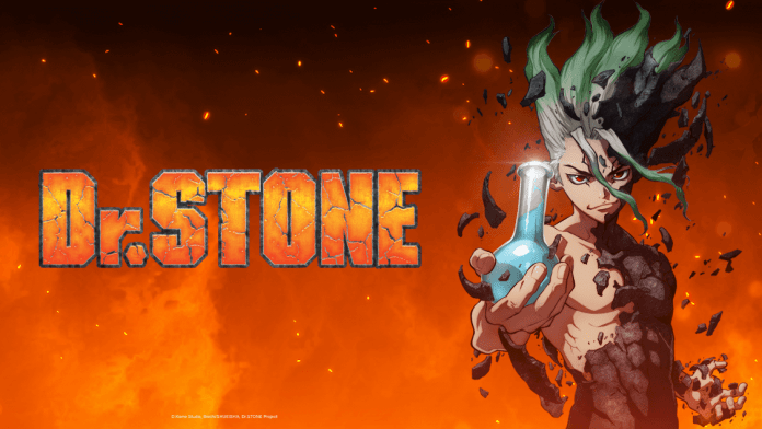 behind the scenes of dr. stone