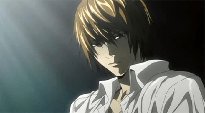 creepy anime light yagami