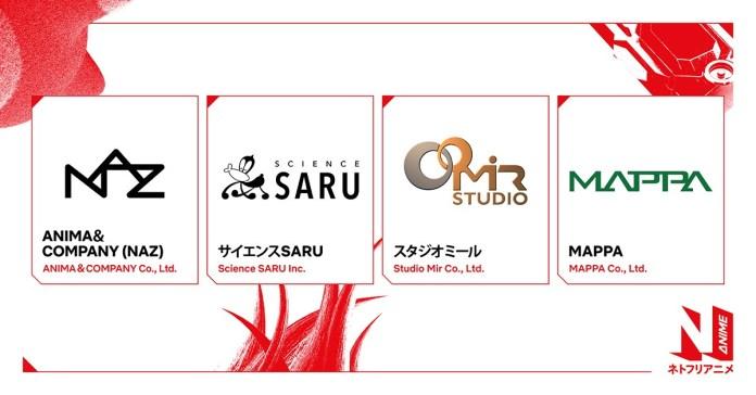 netflix anime partnerships
