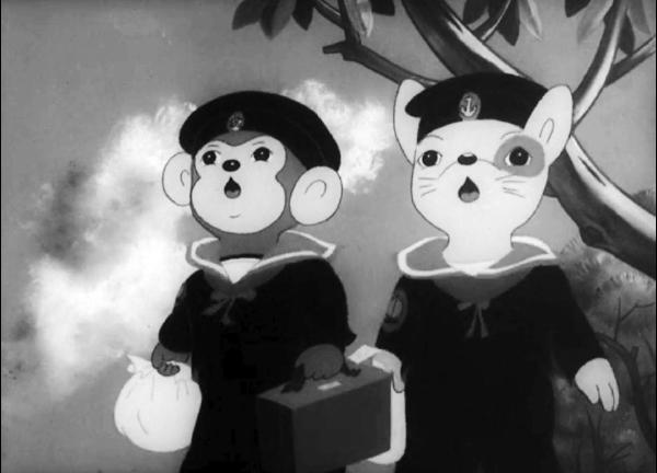 momotaro anime world war ii