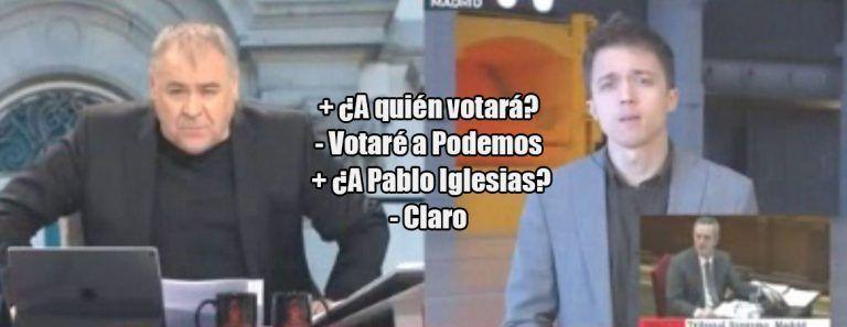 Errejón confirma que votará a Podemos y que 'Más Madrid' no se presentará a las generales.