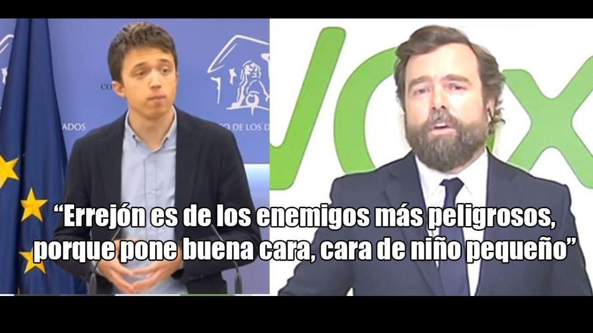 """""""La fascifactoría"""". Espinosa de los Monteros plantea prohibir partidos independentistas y marxistas y ataca a Errejón"""
