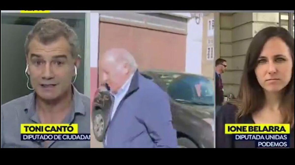 Toni Cantó desata una ráfaga de críticas por su falta de respeto hacía la candidata de Unidas Podemos en Madrid