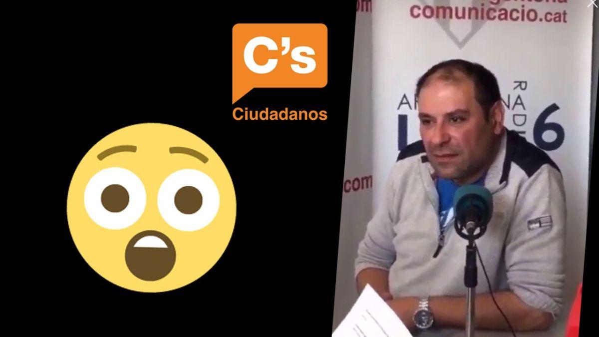 VÍDEO | El candidato de Ciudadanos en Argentona no es capaz de responder ni una sola pregunta sobre el municipio