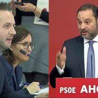 Vídeo | El sopapo de un periodista a Ábalos tras decir que el PSOE ha frenado a la ultraderecha