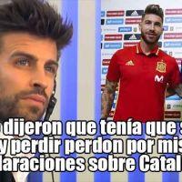 Vídeo | Piqué relata como Sergio Ramos y Lopetegui le ordenaron que pidiera perdón por unas declaraciones sobre Cataluña
