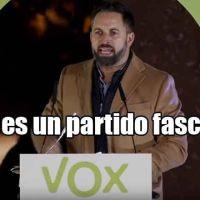 Repositorio de enlaces y argumentos que zanjan de una vez el tema de si Vox es un partido fascista