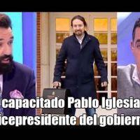Vídeo | Currículum y zasca a Antonio Naranjo por decir que Pablo Iglesias está incapacitado para ser vicepresidente de España