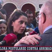 """Arrimadas saca su lado macarra ante Igea: """"Si quieres hacemos públicos nuestros mensajes"""""""