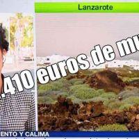 Juicio rápido y 2.410 euros de multa para el machista que besó a una periodista de la Tele Canaria mientras estaba en directo