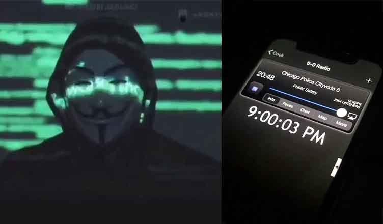 Anonymous hackea la radio y la web de la policía de Minnesota y amenaza con filtrar información