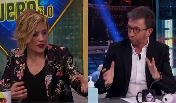 Cristina Pardo y Pablo Motos