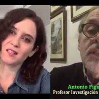 Investigador del CSIC pide a Ayuso que confine Madrid si los datos de contagios proporcionados son reales.