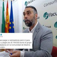 """Rubén Sánchez tras el dedazo de Ayuso: """"no había dinero para rastreadores pero sí para privatizar el servicio y pagar 194.000 euros""""."""