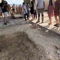 """""""Justicia histórica"""". Comienza la exhumación de 26 fusilados por el franquismo en una fosa común de Monóvar"""