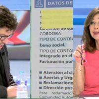 "Vídeo | Correctivo de Fernando Berlín a Ana Rosa tras decir que ""las eléctricas ganan poco"""