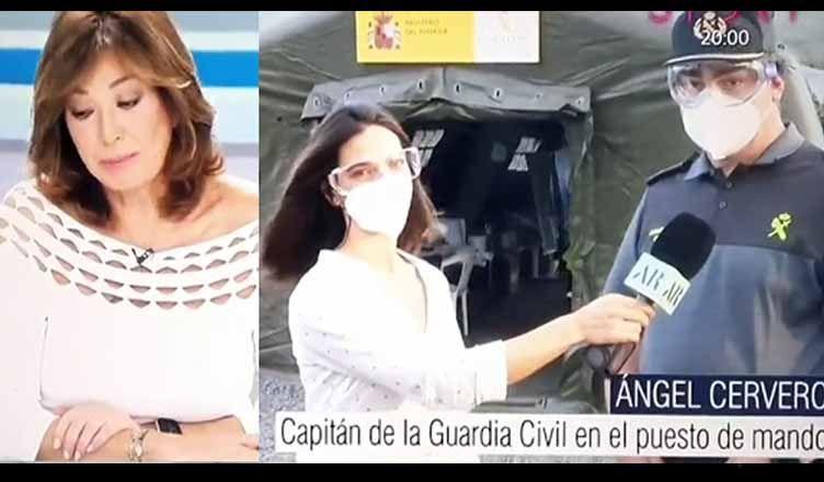Ana Rosa rapapolvo guardia civil