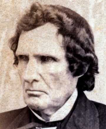 Thaddeus Stevens. Image courtesy of the Library of Congress and the House Divided Project.