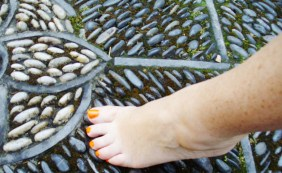 Toes On the Rocks Chinese Garden