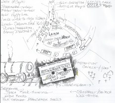 PenInkDrawing SteamTrain