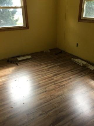 Floor in my sewing room