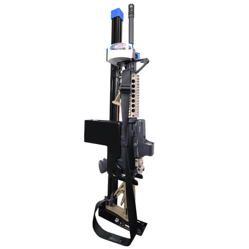 ar secure gun rack single weapon