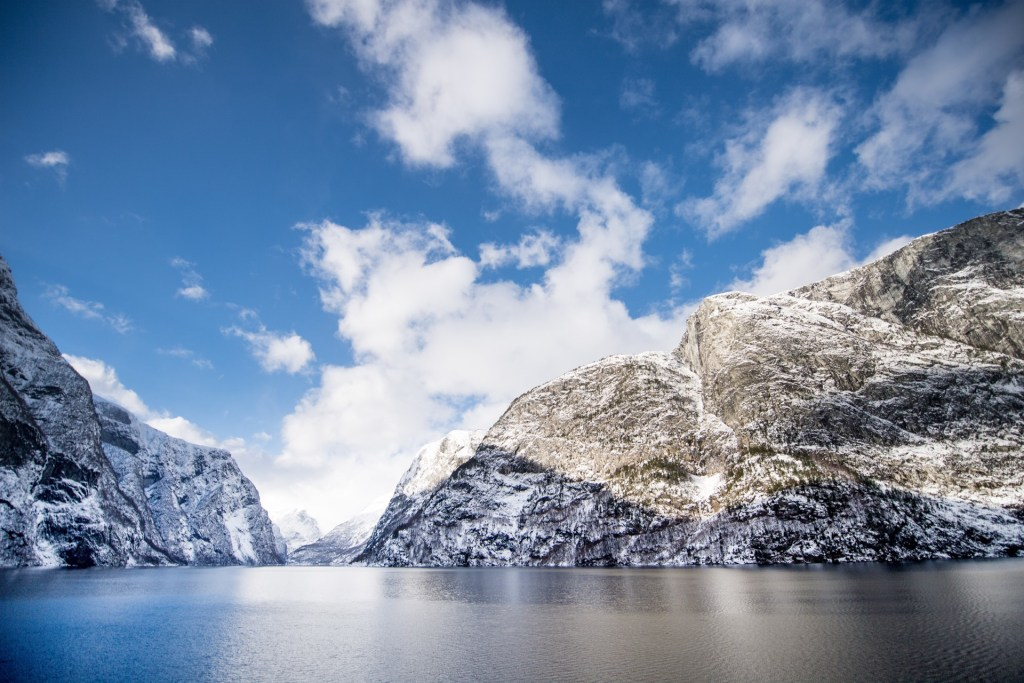 In the middle of snowhere – Fjord cruise