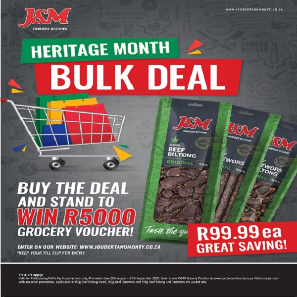 Pick'n Pay Heritage Month competition