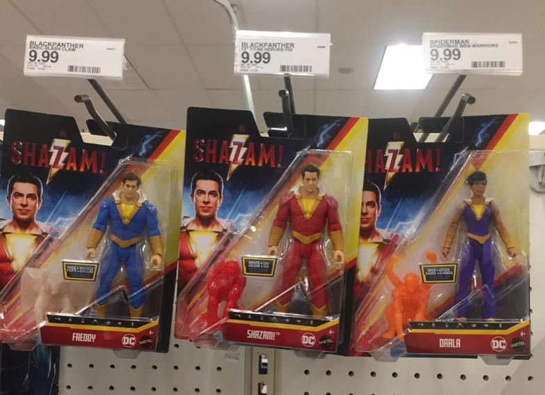 Les figurines DC Comics Shazam arrivent en boutique 1