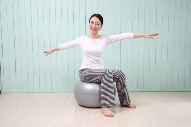 バランスボールのサイズの選び方!椅子代わりにする場合は?身長ごとによって違う?