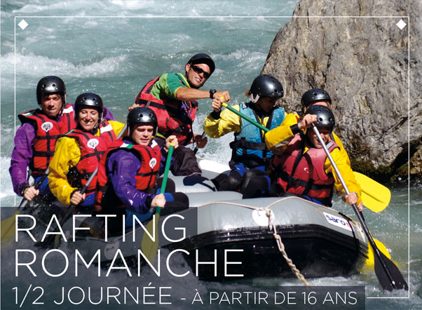 Sport rafting on the Romansh