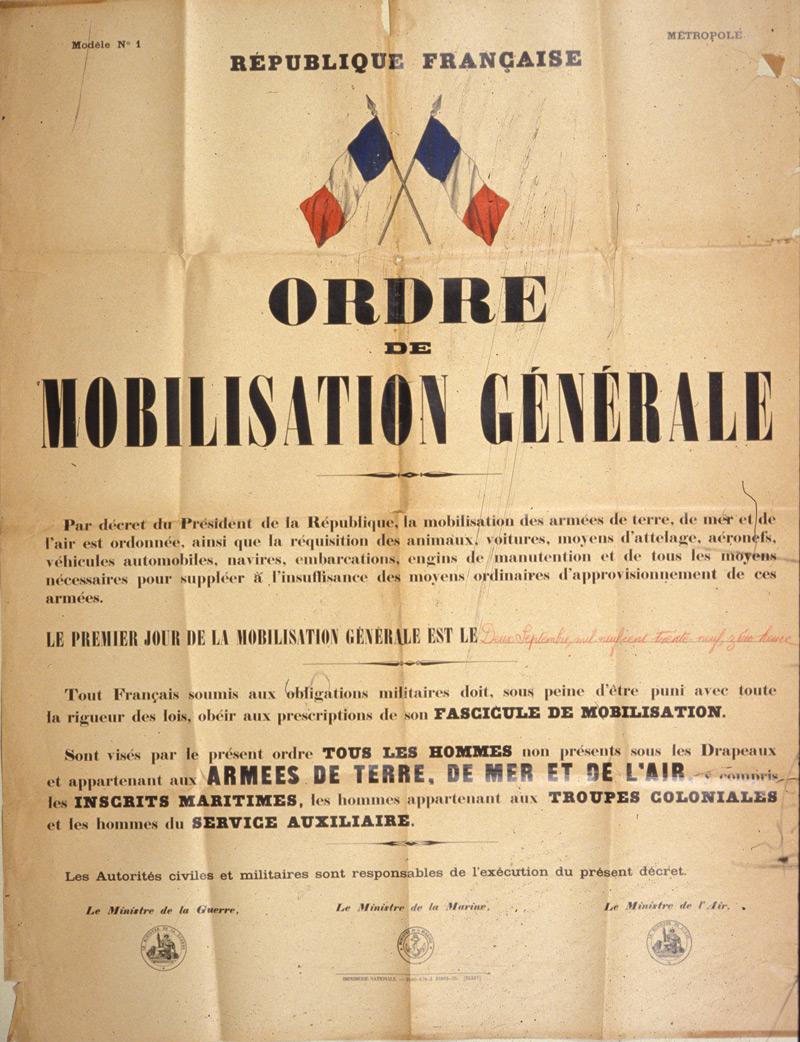 1939 La France Entre En Guerre : france, entre, guerre, France, Entre, Guerre, Journal, Suzon