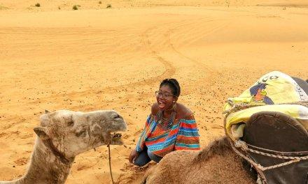 A day trip to Lampoul desert: Senegal's orange sand dunes desert